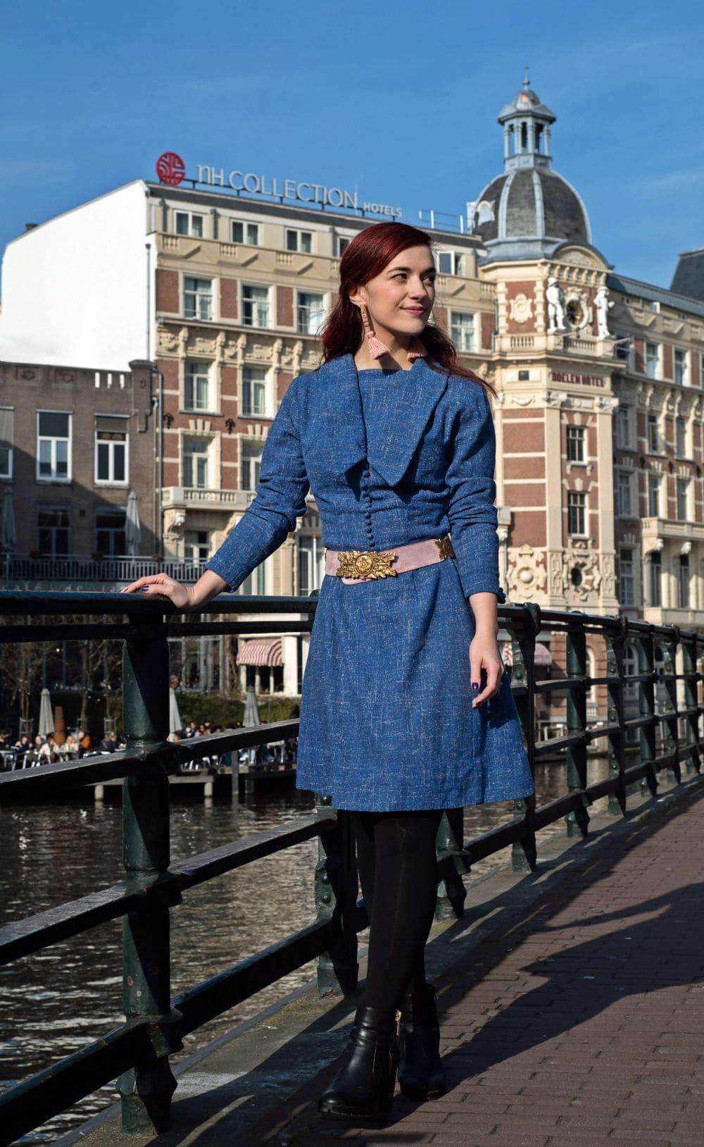 40s dress vintage