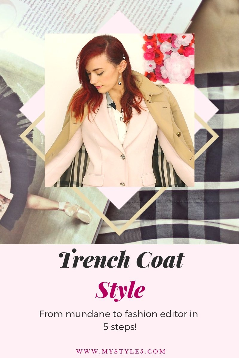 Trench Coat Style.