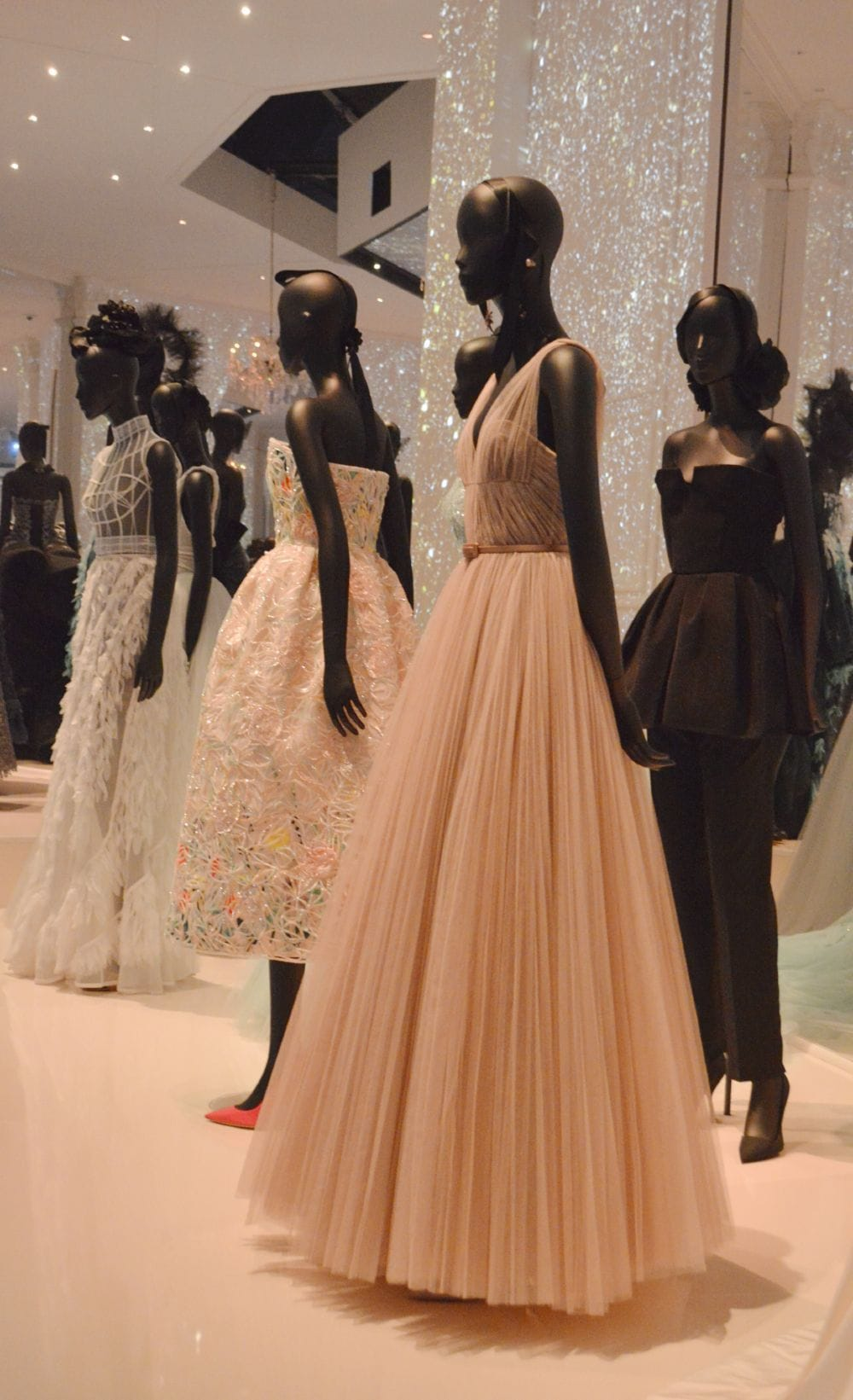 Vintage Christian Dior gowns