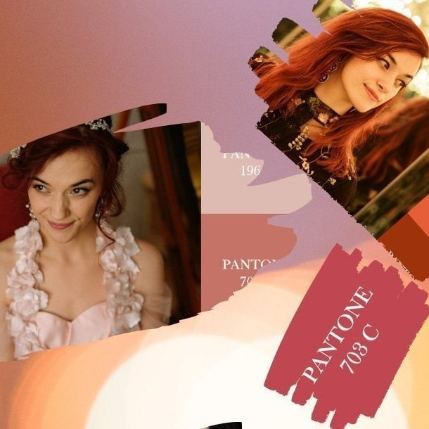 TOP 5 BEST COLORS FOR REDHEADS