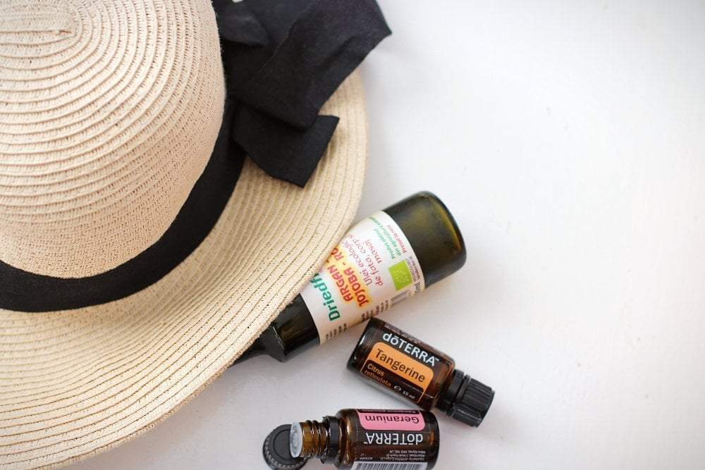 essential oils beauty routine