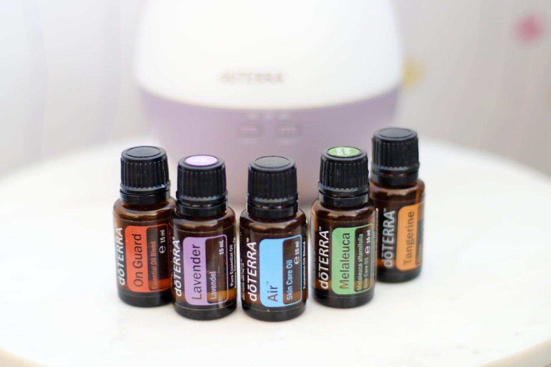 Essential oils air purification