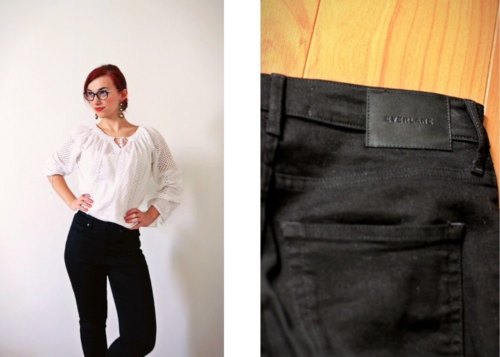 Everlane jeans fit