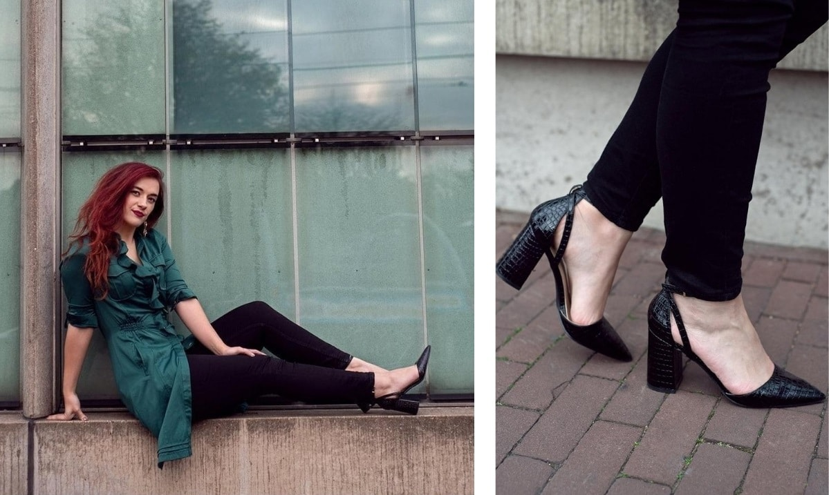 Killer heels to elevate a plain outfit